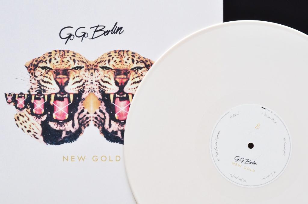 Go Go Berlin New Gold Artwork Vinyl