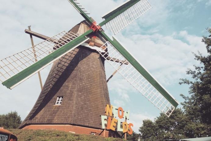 Neon Fields Festival Mühle