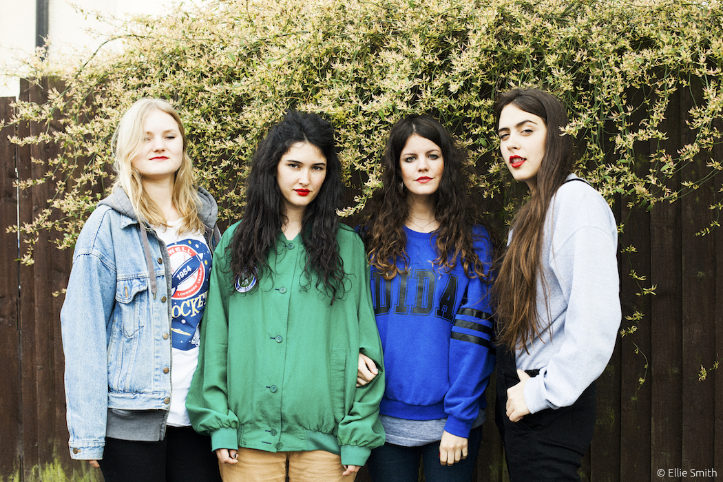 HINDS Interview Hamburg Molotow
