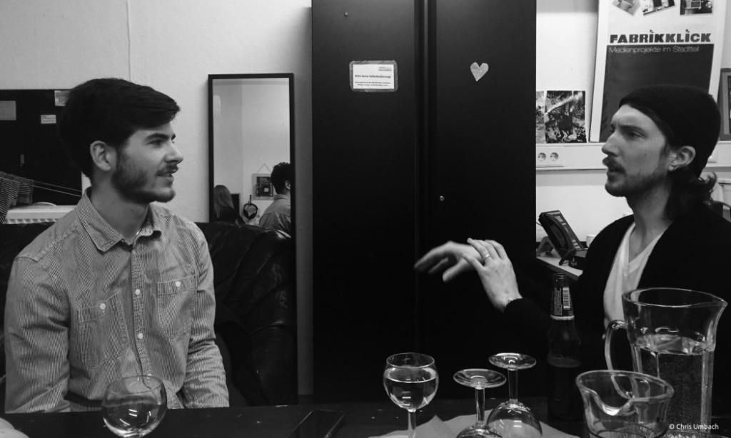 Aidan Knight Interview Hamburg