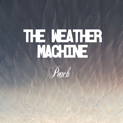 The Weather Machine Peach Cover