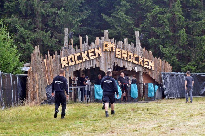 Der Eingang des RaB